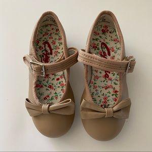 Capezio Tan Tap Shoe NWOB Sz. 7.5 med.